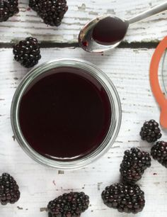 End of Summer Recipe: Blackberry Syrup