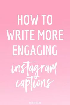 I hear it all the time: how the heck do I write more engaging captions? Simply posting on Instagram isn't enough.It's about writing in way that's going to intrigue people and keep them coming back for more. After all, what good is your content if people Facebook Marketing, Business Marketing, Social Media Marketing, Business Tips, Digital Marketing, Mobile Marketing, Marketing Strategies, Marketing Plan, Business Branding