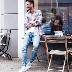 8. Outfit for men- Good for men because it's a relaxed look and it's attractive.