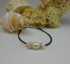 Pearl,Silver and Leather