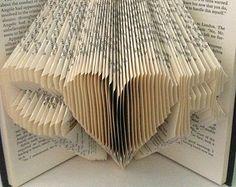 Book Art - Custom Initials