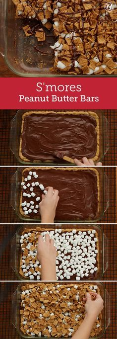 """Magical things happen when you combine a peanut butter cookie base with chocolate frosting, melty marshmallows and crunchy Golden Grahams topping. """"These are absolutely amazing!! I have made them many times and each time they are a big hit. They disappear in minutes from the tray,"""" says Betty member Agacebula."""
