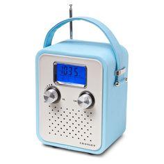 Crosley Songbird Radio in Turquoise