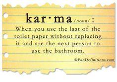 Karma defined