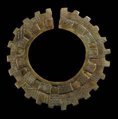 "Africa | Collar ""onlua"" from the Teke people of DR Congo 