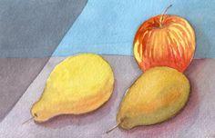 Cynthia Calfat - watercolor