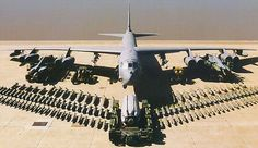 The B-52H has a weapons payload of more than 70,000lb. - Image - Airforce Technology