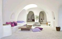 Hotel in Oia, Greece