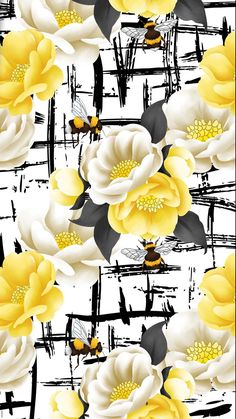 New wallpaper floral design 53 Ideas Flowery Wallpaper, Trendy Wallpaper, Print Wallpaper, New Wallpaper, Screen Wallpaper, Wallpaper Backgrounds, Wallpaper Ideas, Best Iphone Wallpapers, Pretty Wallpapers