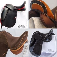 With over 20 different models & endless customization options, Custom Saddlery has something for you! Here are just a few examples of what Custom can do!  #customsaddlery #dressage #saddles #dressagesaddle #saddle #saddlery