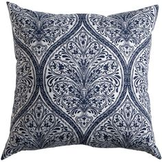 Ethan Allen Danika Navy Pillow (175 AUD) ❤ liked on Polyvore featuring home, home decor, throw pillows, navy blue home decor, dark blue throw pillows, navy home decor, ethan allen and navy throw pillows