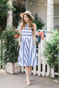 cute sun dress for spring and summer