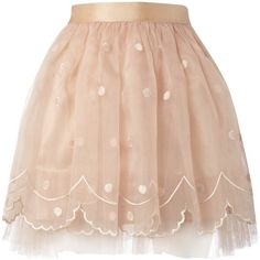 Lipsy Embroidered Tutu Skirt ($32) ❤ liked on Polyvore featuring skirts, bottoms, saias, pink, pink skirt, embroidered skirt, pink tutu, pink tutu skirt and tutu skirts
