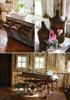 Beautiful farm wedding inspiration by Jennifer Tai
