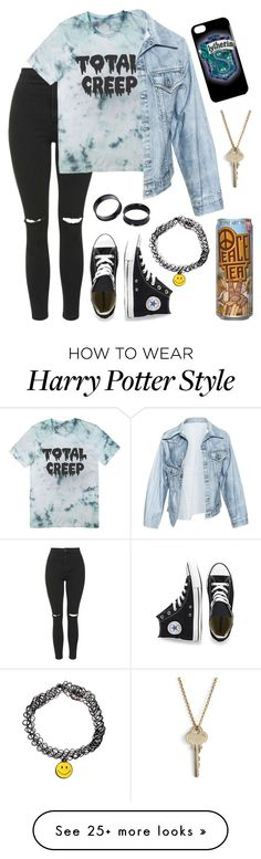 """""""Is there a right way for being strong? Feels like I'm doing things all wrong"""" by simply-punk on Polyvore featuring Topshop, Faustine Steinmetz, Converse and The Giving Keys"""