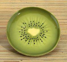 "Kiwi 6.25"" Dessert Plate"
