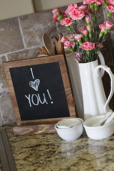 Create a DIY Chalkboard with Rust-Oleum Chalkboard Paint and Wood Stain