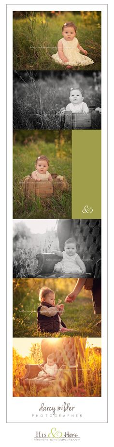 6 month old baby session, photographer Darcy Milder | His & Hers