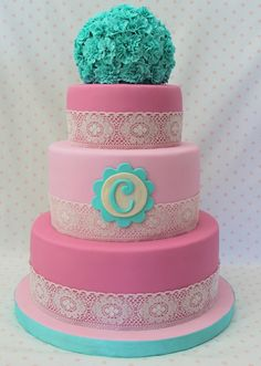 What a CUTE cake!!! little over the top for a birthday or shower but i still love it
