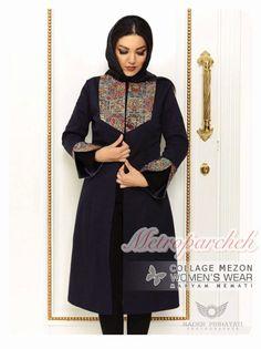 Batik Fashion, Abaya Fashion, Fashion Sewing, Fashion Dresses, Balochi Dress, Fancy Kurti, Mode Abaya, Iranian Women Fashion, Baby Girl Dress Patterns
