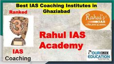 Rank wise Top IAS Coaching Centres in Ghaziabad offering various courses like - UPSC, MPSC, CSAT including their past performance and contact details. Online Test Series, Online Tests, Ias Notes, Study Materials, Computer Science, Coaching, Teacher, Student, Education
