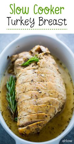 Use your slow cooker to prep the juiciest turkey breaast ever! Thanksgiving dinner made easy:  http://www.ehow.com/how_2304023_slow-cook-turkey.html?utm_source=pinterest.com&utm_medium=referral&utm_content=freestyle&utm_campaign=fanpage