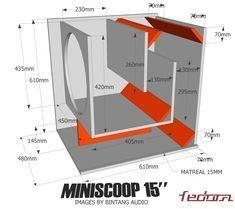 15 Inch Subwoofer Box, Diy Subwoofer, Subwoofer Box Design, Speaker Box Design, Sub Box Design, Dressing Table Design, Speaker Plans, Diy Speakers, Circuit Diagram