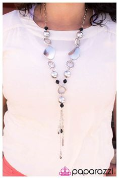 Free Giveaway: Moon Charm with Silver Pearls - Blockbuster Necklace/Earring Set by Paparazzi  Accessories   Enter Here: http://www.giveawaytab.com/mob.php?pageid=386174428103474