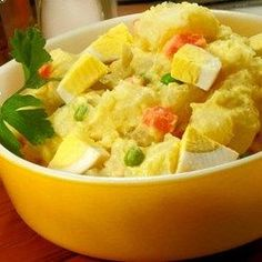 This is the creamiest, richest potato salad you will ever try. The secret is in the homemade dressing. I get nothing but raves every time I make this.