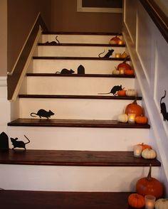 Decorativo para escalera #Halloween