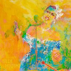 Don't know your Ellington from you Armstrong? Meet 9 titans of jazz (and then drop their names at the very next opportunity) through this vivid painting. Jazz Instruments, Leroy Neiman, Cool Jazz, Music Painting, Billie Holiday, Jazz Band, Jazz Musicians, Art Themes, National Museum