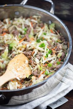 3. Sausage Egg Roll in a Bowl #lowcarb #dinner #recipes http://greatist.com/eat/low-carb-recipes-dinners-low-in-carbohydrates