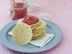 Water crackers aux graines et Houmous de betterave