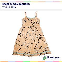 Solero Dominguero de Viva la Pepa.   Para ver talles y comprar ¡Hacé click en la imagen!
