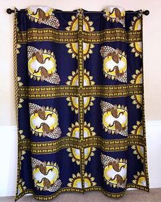 Get 2 curtain patterns for the price of house don't have to be so conventional. Our awesome African Print double sided window curtains transform a neglected essential into an awesome statement piece. Featuring a double-sided print. Curtains Yellow And Blue, African Home Decor, Printed Curtains, Curtain Patterns, Ankara Fabric, Main Colors, Window Curtains, Flipping, Green And Gold