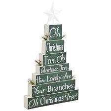 Oh Christmas Tree Decor