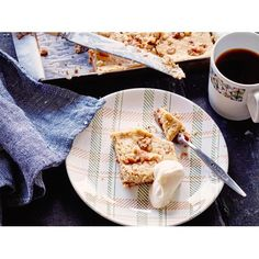 Nici Wickes' recipe for coffee and walnut cheesecake slice is simply heaven and can easily double as a dessert