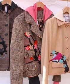 Upcycled jackets