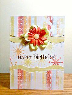 #papercraft #card -  Birthday Card