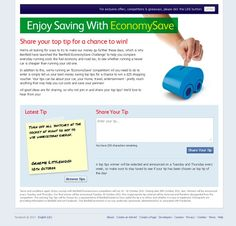 Enjoy saving with Benfield Economy Save! Share your top money saving tips with Benfield