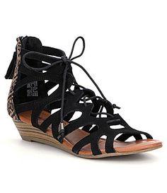 Minnetonka Merida Wedge Sandals #Dillards