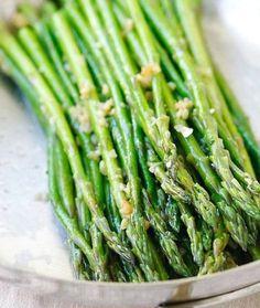 Garlic Butter Sautéed Asparagus – HealthShoot