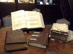 Libros de galeras del Archivo del Museo Naval