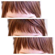 ごうだゆかさんはInstagramを利用しています:「* * 2wayの前髪。 この前は1番上の載せたのですが他のも。 * スタイリング次第で ラウンド(上)にもアシメ(下)にもできるように 内側を短く(中)してもらいました ✂︎ * cut ☞ Gocco. 小松 * 前髪シリーズ ☞ #g_前髪 * * *…」 Hair Inspo, Hair Inspiration, French Haircut, Fashion Beauty, Girl Fashion, Dream Hair, Short Cuts, Hair Today, Hairstyles With Bangs