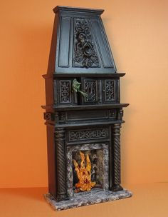 Haunted Fire Place 1:12, Patricia Paul