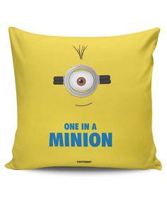 One in a Minion Cushion Cover