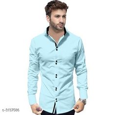 Shirts Trendy Men's Cotton Shirt Fabric: Cotton Sleeves: Sleeves Are Included Size: S M L XL XXL (Refer Size Chart ) Length: Refer Size Chart Type: Stitched Description: It Has 1 Piece Of Men's Shirt Pattern: Solid Country of Origin: India Sizes Available: S, M, L, XL, XXL   Catalog Rating: ★4 (388)  Catalog Name: Siya Trendy Men's Cotton Shirt Vol 16 CatalogID_430557 C70-SC1206 Code: 384-3137586-999