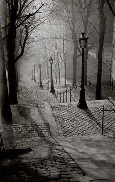 Brassai - Les Escaliers de Montmartre, Paris I have this one in my home