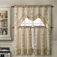 plaid design kitchen curtains sets | kitchen curtains | pinterest