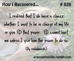 #eatingdisorder #recovery